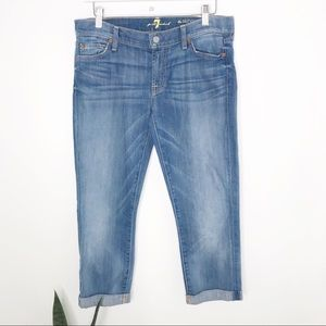 7 For All Mankind   The Skinny Crop & Roll